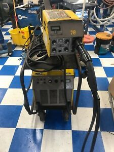 Esab 450i 450 Amps 220v Single Phase Heavy Duty Mig Welder Steel And Aluminum
