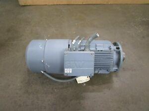 Sew eurodrive Kh87 t Dv132ml4 bm hr tf ev1s 9 2kw Electric Motor 266 460v 3ph