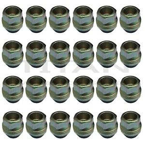 24 Piece 9 16 Open End Lugs Nuts Factory For Chevy Gmc Style Type Lugs Zinc
