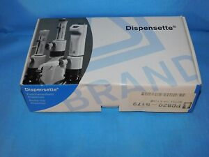 Dispensette Bottle top Dispenser Organic 0 5ml 5ml Ajustable Vol New W papers