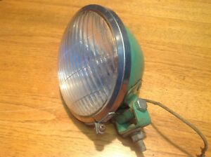 Solid Do ray Lamp Co 510 Tractor Early Fender Lamp Light Vintage John Deere