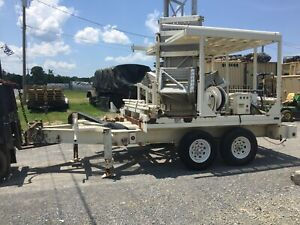 Tower Solutions Ptm 100 Mobile Ham Radio Tower Trailer no Shipping Parts Only