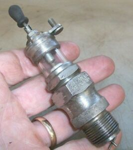 Rentz Lighthouse Style 7 8 Spark Plug N o s Old Gas Engine Hit And Miss