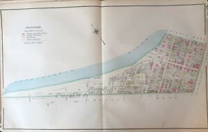 Original 1904 Wilkes Barre Pennsylvania Ninth Regiment Armory Plat Atlas Map