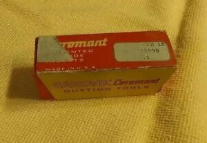 Sandvik Coromant 432 15 Carbide Turning Inserts Lot Of 10