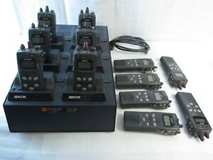 12 X Harris M a com P5100 Handheld 2 way Radio Multi Charger Ch 104570 026