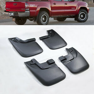 4 X 4 Front rear Mud Flaps Flares Mud Guards Splash For Toyota Tacoma 2005 2015