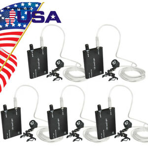 5x Clip on Led Head Light Lamp For Dental Surgical Medical Binocular Loupes Usa