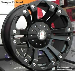 4 New 18 Wheels For Dodge Ram 1500 2013 2014 2015 2016 2017 2018 Rims 1890