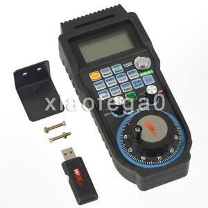 Wireless 6 Axis Mach3 Mpg Pendant Handwheel Controller For Cnc Machine Lathe Usa