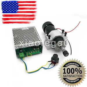 Er11 Chuck Cnc 500w Spindle Motor 52mm Clamps Speed Govern Controller In Us