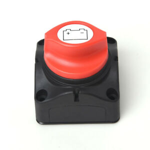 Car Truck Marine Boat Battery Safety Shut Off Disconnect Kill Switch Rotary Knob