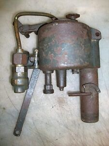 Large Fairbanks Morse Z Carburetor And Fuel Pump Old Gas Engine Original Fm