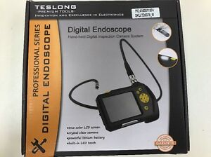Teslong 2 7 Inch Color Lcd Screen Endoscope Inspection Snake Camera