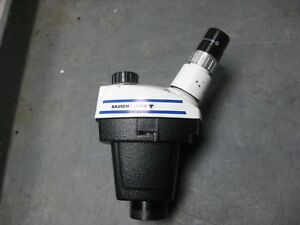 Bausch Lomb Stereozoom 3 1 0x 2 5x Microscope Head
