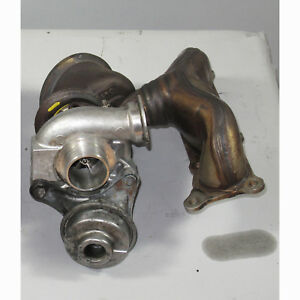 Bmw E82 E88 135i Z4 E89 Bank 1 Factory Front Turbo Charger W Rebuilt Wastegate