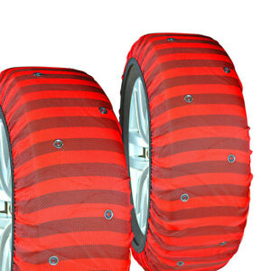 Isse Classic Textile Snow Tire Chains Socks For Snow Covered Roads 225 40 17