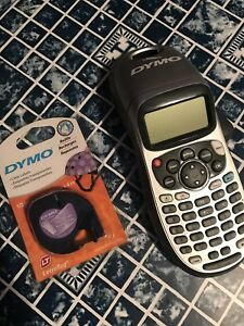 Dymo Letratag Plus Lcd Lt 100h Auto off Power Personal Printer Label Maker