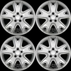 4 New 2013 2018 Ford Escape S 17 Snap On Hub Caps Full Rim Skins Wheel Covers
