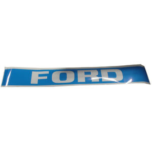 Blue Hood Decal Set For Tw5 Ford Tractors