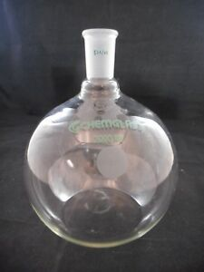 Chemglass Glass 2000ml 2l Heavy Wall Round Bottom Flask 24 40 Cg 1506 25