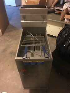 Commercial Deep Fryer Natural Gas
