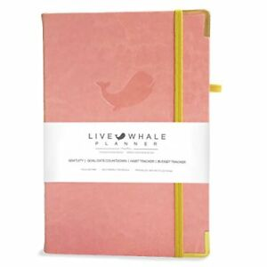 Live Whale Planner Weekly Edition 2018 2021 Calendar 1 Year Non Dated Day Agenda