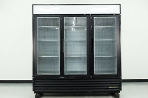 Used True Gdm 72f 3 Swing Glass Door Merchandiser Freezer