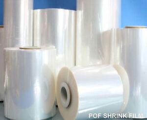 32 75 Ga Centerfold Polyolefin Shrink Film 500 Ft Roll