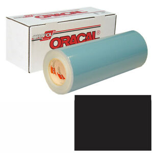 Oracal 751 15in X 50yd 070 Gloss Black