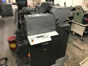 Heidelberg Printmaster 46 Offset 2 c Printing Press