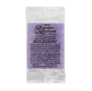 Wonder Wafers 3075 Mulberry Scent Car Truck Air Freshener Wafer 50 Pack