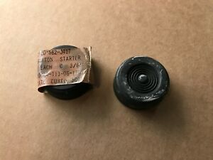 Nos Jeep Willys M38 M38a1 2 Foot Starter Pedal Rubber Pads G740 G758