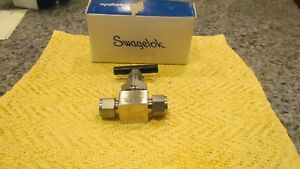 Swagelok Ss 6dbs8 Swagelok Steel Blowdown Needle Valve 1 2 In Tube Fitting