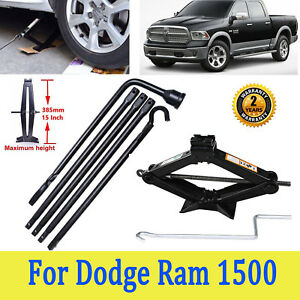 Spare Tire Tool Lug Wrench For Dodge Ram 1500 2015 2014 Scissor Jack 2 Tonne