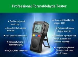 Formaldehyde Detector Humidity Detector Thermometer Air Quality Test Kit