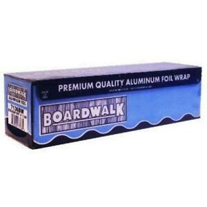 Boardwalk Bwk7136 Extra Heavy duty Aluminum Foil Roll 18 X 1000 Ft Silver