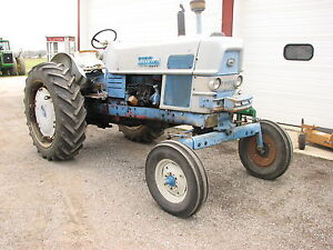 Ford 6000 Wide Front Diesel Tractor 540 1000 Pto Select O Speed Transmission