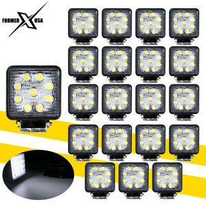 20x 48w Flood Led Work Light Bar Offroad Boat Tractor Truck Fog Cars Light 12v
