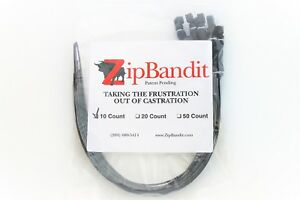 Zip Bandit Cattle Castration Bander No Tool Needed Band 100 Castrating Bands