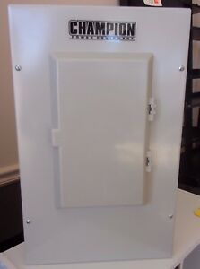 Champion Ats 50 Amps Automatic Transfer Switch Nema 1 Indoor Mount 10 0947