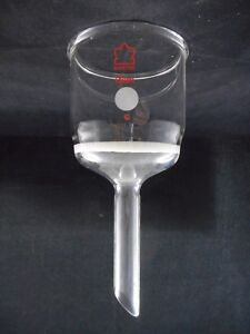 Kontes Glass 150ml Buchner Filter Funnel C Coarse Fritted Disc