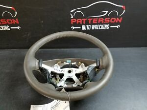 2002 Dodge Ram Pickup 1500 Leather Steering Wheel Taupe Trim Code L5 Worn