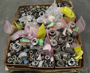 Huge Lot Of Penn Stainless Weld Coupling Pipe Fitting Reducers Some Threaded