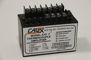 Calex Model 470 Thermocouple Amplifier