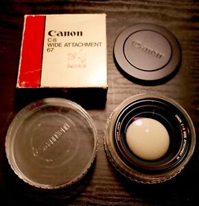 canon super 8 wide angle lens attachment