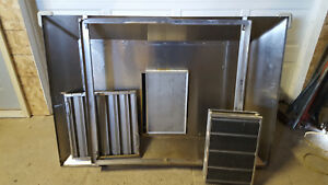 Giles 3 Stage Filter Ventless Hood System Po vh Tested 240v 61x41x30