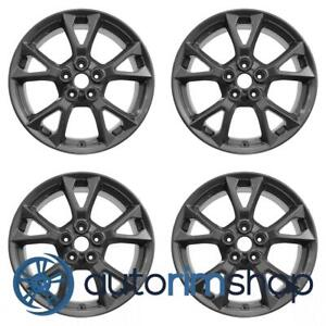 Nissan Maxima 2012 2015 18 Factory Oem Wheels Rims Set Charcoal