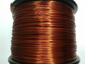 Essex Magnet Wire 10 Awg Gauge 0 1054 1 5 Lb Enameled Copper Coil Winding