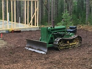 1956 John Deere 420c Bulldozer Well Maintained Ready For Work